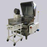 Stroje na odmašťování kovových dílů a součástek.