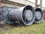 Rovnotlaké axiální ventilátory
